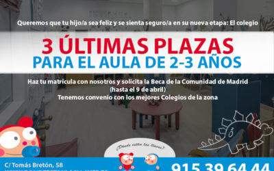 ULTIMAS PLAZAS