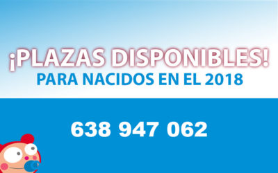 PLAZAS DISPONIBLES